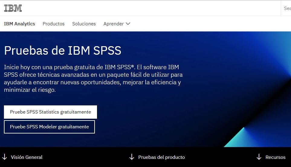 web oficial spss ibm